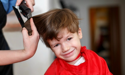 kids able to choose whatever hairstyle they want
